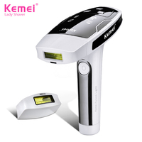 Kemei Laser Epilator Hair Removal Photon Skin Care Laser Device Permanent Facial Depilador Painless Laser Hair Removal KM 6812