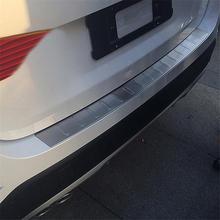 Car Foot Pedal Trunk Rear Panels Exterior Auto Decorative Decoration Modification Sticker 12 13 14 15 16 17 18 FOR BMW X1 Series