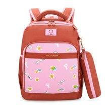 fb3fad219 Nueva moda niños mochilas escolares para niñas mochila niños mochila  impresión infantil mochilas niña arco traje