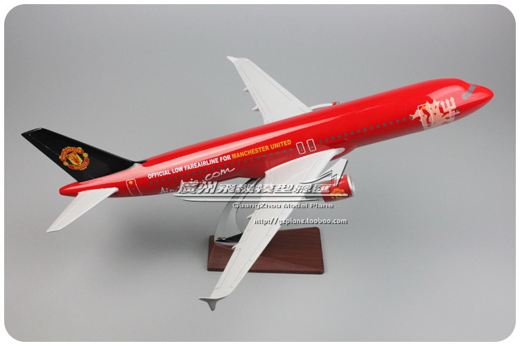 47cm Resin A320 Air Asia Airplane Model United Asian Airlines Airbus Air Asia A320-200 Airways Aircraft Aviation Plane Model Toy артпром подвесной светильник артпром crocus glade s3 01 03