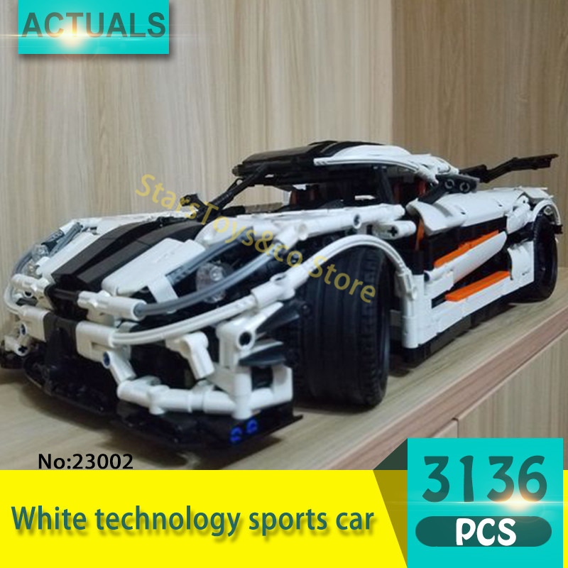 Lepin  23002 3136Pcs Technic Series Speed Super Racing Model Building Blocks Set  Bricks Toys For Children Gift lepin 20031 technic the jet racing aircraft 42066 building blocks model toys for children compatible with lego gift set kids