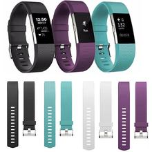 Cewaal Wristband Wrist Strap Smart Watch Band Strap Soft Watchband Replacement Smartwatch Band For Fitbit Charge 2
