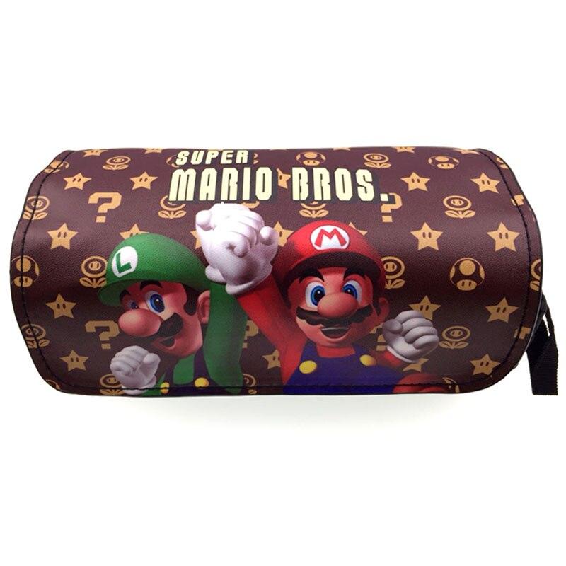 New Cartoon Cute Pencil Bag Stationery Bag Star Wars/Super Mario Cosmetic Bags