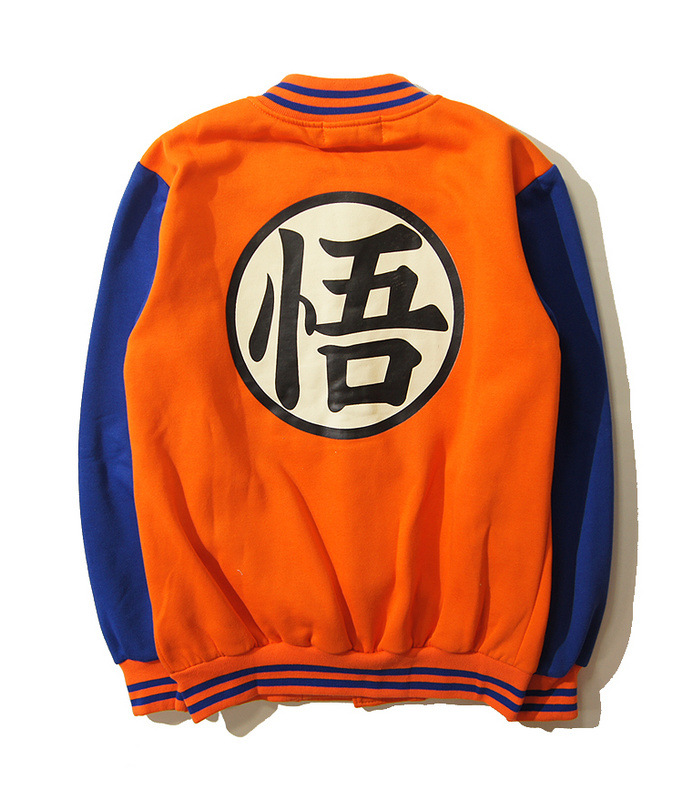 New Arrival Anime Dragon Ball Z Super Son Goku Hoodie Sweatshirts Adult Men Christmas Clothing Free Shipping