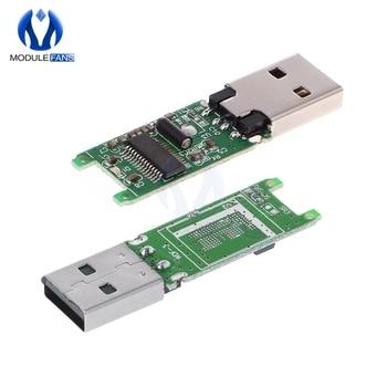 USB 2,0 eMMC адаптер eMCP 162 186 PCB модуль основной платы без флэш-карта памяти eMMC адаптер с корпусом корпуса
