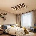 Скандинавский лабиринт свет спальня гостиная светодиодный потолочный светильник коричневый светодиодный потолочный светильник освещени...