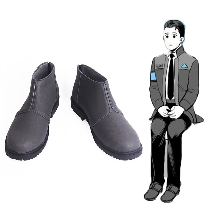 Game Cosplay Shoes Connor Cosplay Shoes Boots Halloween Party Cosplay Costumes Daily Leisure Shoes