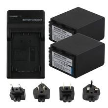 лучшая цена RP2Pcs 4200mAh NP-FH100 NP FH100 Battery + USB Dual Charger for Sony DCR-SX40 SX40R SX41 HDR-CX105 FH90 FH70 FH60 FH40 FH30 FP50