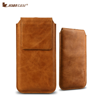 Jisoncase Fashion Mobile Phone Cases Cover For IPhone 7 Plus IPhone 7 Luxury Genuine Leather Coque