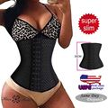 Slimming Body Waist Shaper Tummy Trimmer Steel Bone Waist Trainer Cincher Women/Lady Girdles Lose Weight Waist Corsets