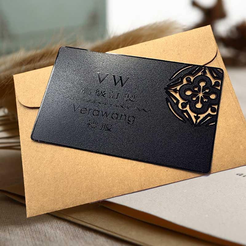 High-grade Ferrous Metal Business Card Creative Card Metal Membership Card Business Personalized Custom Card
