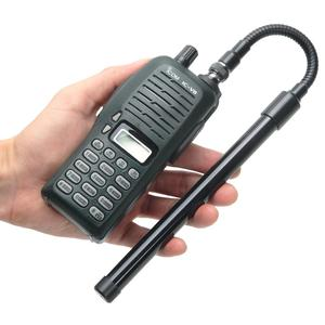 Image 4 - ABBREE AR 148 Schwanenhals BNC Taktische Antenne VHF UHF 144/430Mhz Faltbare für Kenwood TK308 TH28A Icom IC V80 Walkie talkie