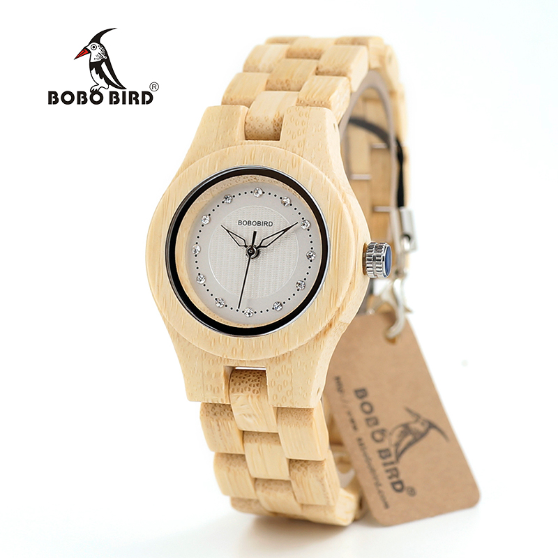 Watch Wood Wristwatches with Wooden Band Female Watches Lady Quartz Watch relogio feminino (52)