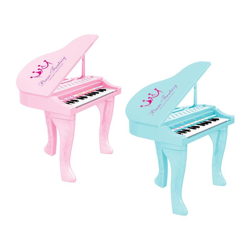 25 touches enfants clavier électronique Electone jouet électronique Piano orgue Instrument de musique Microphone jouet éducatif enfants fille - 6