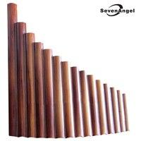 Pan Flüt 15 Boruları Doğal Bambu Rüzgar Enstrüman Panpipe G Anahtar Flauta Xiao El Yapımı Pan Flüt Flauta Halk Müzik Aletleri
