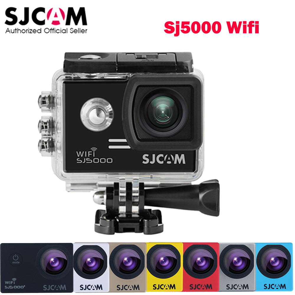 Extra Battery As Gift 14MP Original SJCAM SJ5000 WiFi Novatek 96655 Full HD 1080P Waterproof Sports