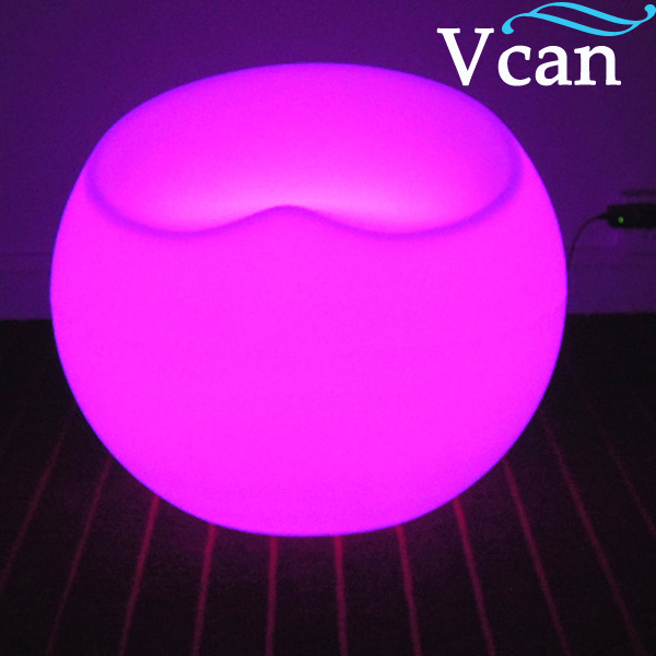 Best 2016 LED Light Nice Apple Chair Stool for bar event wedding club as furniture VC-S5647