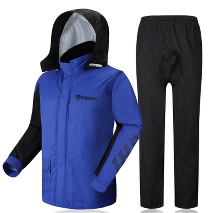 Windproof Mens Rain Coat Waterproof Moto Bicycle Men Raincoat Women Windbreaker Camping Abrigos Hombre Gear Rain Suit 7R0276 in Raincoats from Home Garden