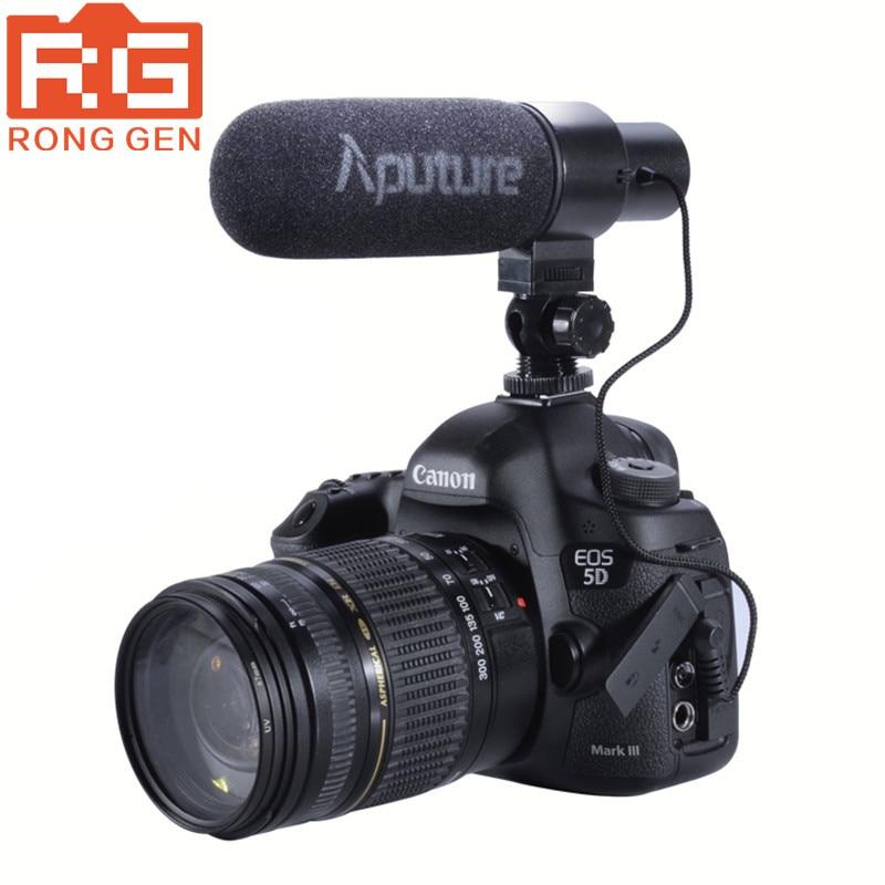 Aputure V-Mic D1 Directional Condenser Shotgun on Camera Microphone for Canon Nikon Sony DSLR DV Camcorder