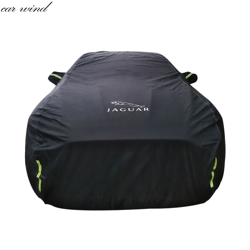 Car wind Oxford Car Cover Waterproof Thicken For Jaguar XF XE XJ F-PACE F-TYPE Sunshade Snow Protection rainproof windshield