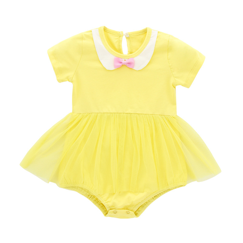 202fcc11d68 Baby Dress Summer Baby Girl Clothes 2017 Baby Rompers Fashion Newborn Baby  Clothes Roupas Bebe Infant Jumpsuits Kids Clothes Tags