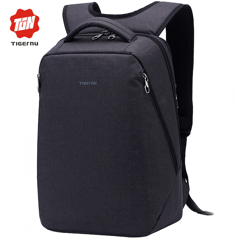 ФОТО 2017 Tigernu Fashion Korea Style Men Women Backpack Casual Brand Backpack for Teenagers Laptop Notebook 14