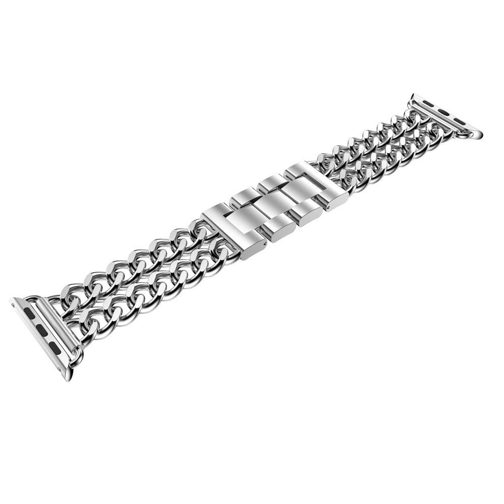 7956fa824e1e Cowboy Chain Stainless Steel Link Strap for Apple Watch Band Bracelet for  iWatch Series 1 2 3 Watchband Accessories 42mm 38mm-in Watchbands from  Watches on ...