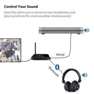 Image 2 - Avantree Lange Afstand Draadloze Hoofdtelefoon Voor Tv Kijken Met Bluetooth Zender, Ondersteunen Optische, Rca, 3.5Mm Aux, Plug & Play