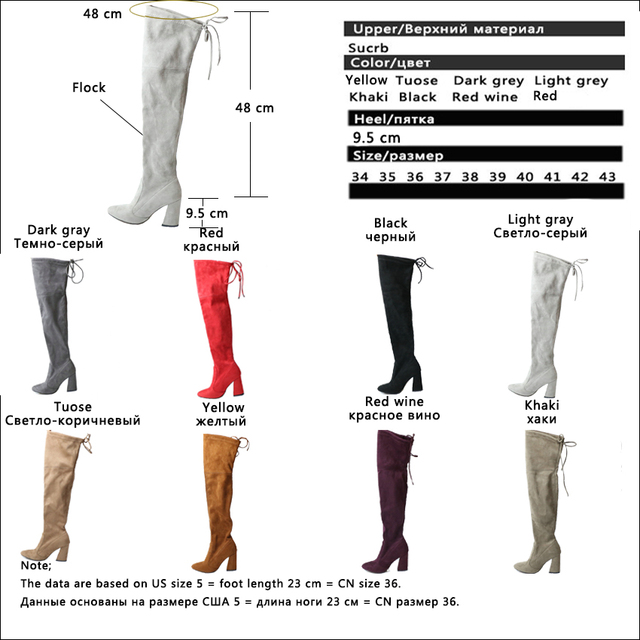 Women Over The Knee Boots