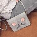 2016 mujeres mini ratón bolsas de diseñadores famosos bolsos de marcas de lujo las mujeres bolsa de hombro femenino bolsa de mensajero crossbody bag laides,