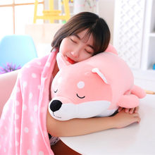 25/35/55cm Hot Software hyena Dog Plush Toy Large Cute Stuffed Animals Pillow Sleeping Doll Gift For Kids Boys Girls Toys Store(China)