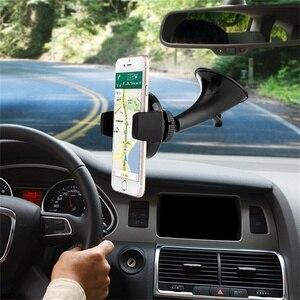 Image 3 - 696 チーワイヤレス充電器 iphone × 車のワイヤレス充電器パッドマウント高速サムスン S7 S8 注 8 iphone 8