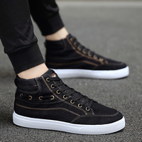 Korean Summer Men's Canvas Shoes Trend Breathable Trend Shoes Youth Casual Shoes