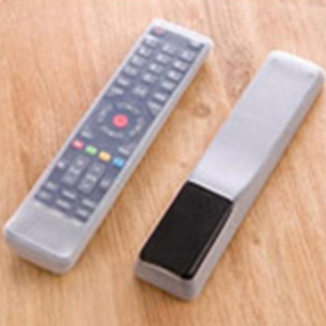 New arrival modern simple transparent silicone Remote control protective cover anti-dust waterproof for TV remote control