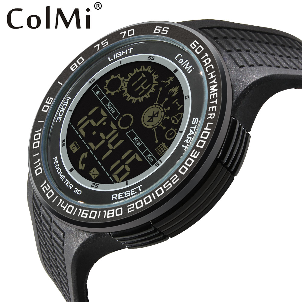 ColMi Sport Smart Watch King Kong Waterproof IP68 Passometer Message Reminder Ultra-long Standby 33 Months Swimming Smartwatch