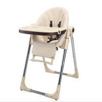 Baby dining chair foldable multifunctional infant seat seat dining table kids table baby high chair