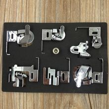 Sewing Machine Accessories Foot Feet Presser Kit Set For Brother Janome Singer Sewing Tools Household Supplies