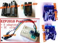 EZP 2010 25T80 Bios High Speed USB SPI Programmer SOP16 SOP 16 SOP8 SOP 8 to DIP8 DIP 8 EZP2010 + 5 Adapters + SOIC8 Clamp