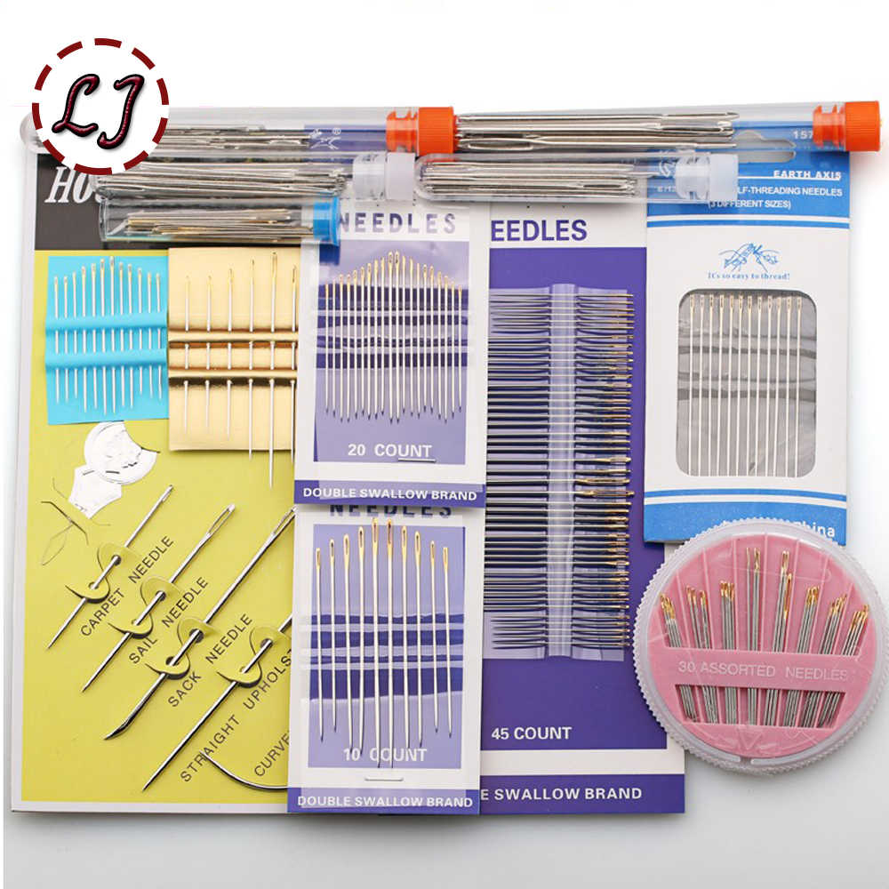 1 pack Stainless Steel sewing needles pins for Needlework Home DIY Crafts Household Handmade Cross stitch Sewing Accessories
