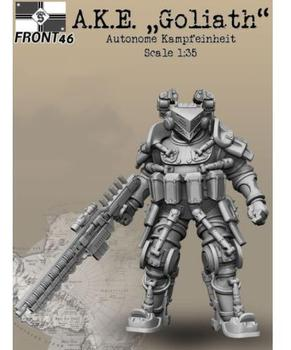 New Unassembled  1/35 Science fiction soldier stand    Resin Kit DIY Toys Unpainted resin model