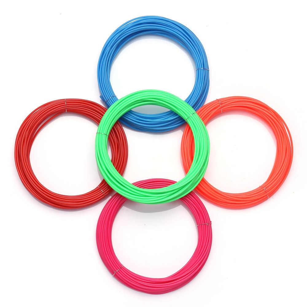 3D Pena Khusus ABS Filamen 1.75 Mm Filamen 3d Printer ABS 3D Pena Bahan Plastik 5/10/20 warna untuk Anak Menggambar Pena Hadiah