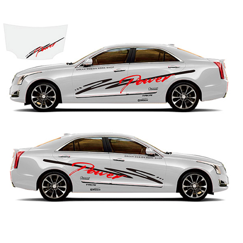TAIYAO car styling sport car sticker For Cadillac ATS ATS V car accessories and decals auto