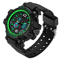 Men Military Watches Digital LED Automatic waterproof watch Men Fashion Watch top quality clock army wristwatch military shock
