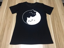 Cute Yin Yang Cats T-shirt