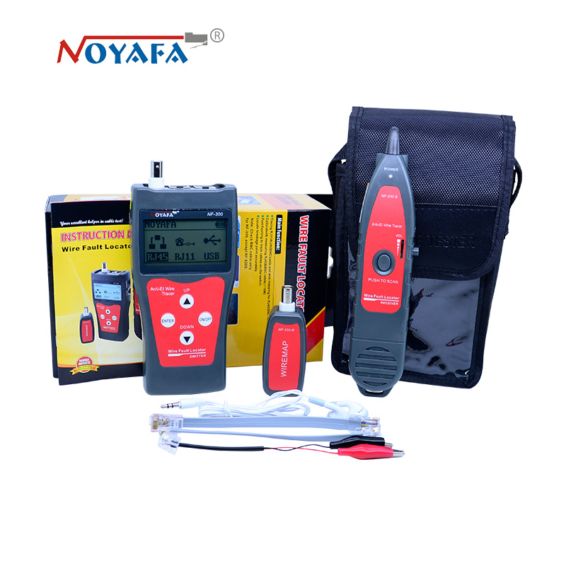 Free shipping NF-300 Lan tester RJ45 LCD cable tester Network monitoring wire tracker without noise interference original lan tester rj45 lcd cable tester network monitoring wire tracker without noise interference nofaya nf 300