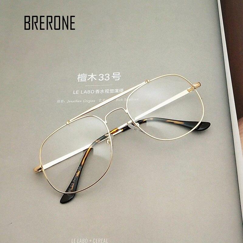 a5640c4a28b5 BRERONE Design Eyewear Frames eye glasses frames for Women Men Male Eyeglasses  Mirror Ladies Eyeglass Sports