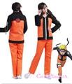 Hot Anime Uniform Outfit Naruto Cosplay Costume 2nd Uzumaki Naruto Costumes