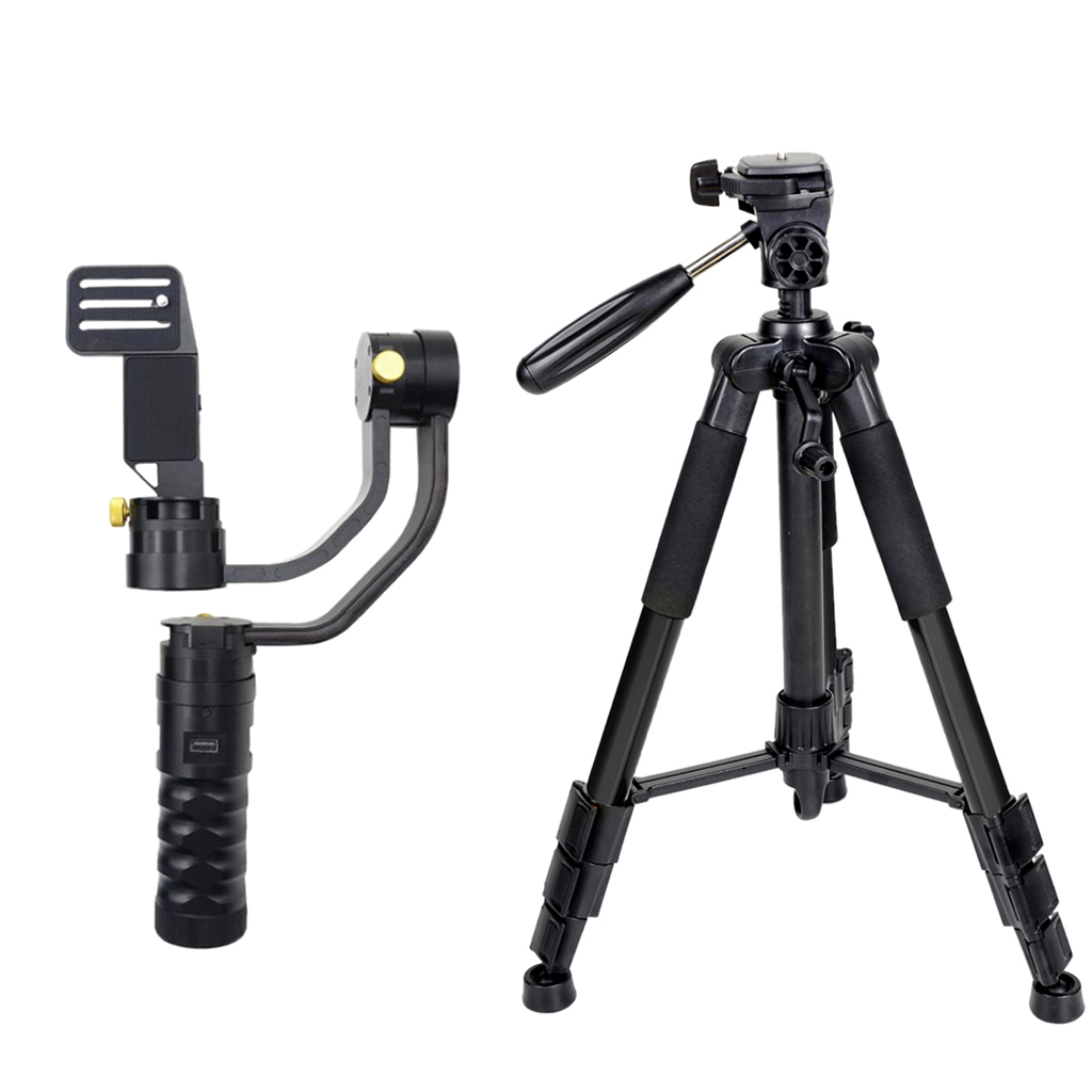 AFI 3 Axis Handhled Gimbal Stabilizer 32bit + Professional Camera Tripod for 5D 6D 7D DSLR Camera afi 3 axis handhled gimbal stabilizer for 5d 6d 7d dslr as beholder ds1 ms1 mini dslr cameras