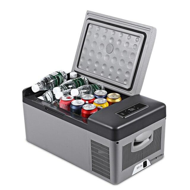 Plug In Cooler >> 15l Car Refrigerator Ac 110 240v Dc 24v 12v Portable Cooler Freezer