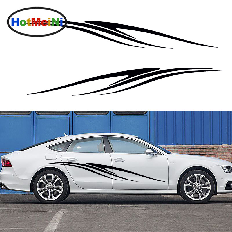 Hotmeini 2 X Abstract Wildlife Zebra Stripes Running Motif